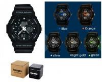 Часы наручные Skmei 0955 электронные (дата, будильник, секундомер, таймер), пластик, подсветка
