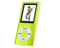 "Плеер Perfeo VI-M011 Green Music I-Sonic MP3 , цветной дисплей 1, 8"", материал корпуса алюминий, microSD, наушники"