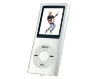 "Плеер Perfeo VI-M011 Silver Music I-Sonic MP3 , цветной дисплей 1, 8"", материал корпуса алюминий, microSD, наушники"