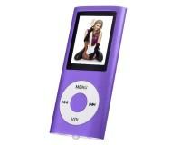 "Плеер Perfeo VI-M011 Purple Music I-Sonic MP3 , цветной дисплей 1, 8"", материал корпуса алюминий, microSD, наушники"