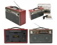 Приемник Blast BPR-812 аккумуляторно-сетевой AUX/USB/microSD до 32 Гб, Bluetooth, 2х3 Вт., FM (87-108МГц), AM (522-1620КГц), SW (5.9-18МГц) размер: 170х275х110 мм., черный