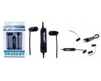 Наушники беспроводные Blast BAH-401 BT внутриканальные, Bluetooth, 0, 6м, коробка, черные