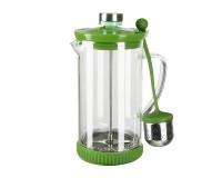 Френч-пресс Rosenberg PGL-245003 Coloriva 100мл 2 в 1( для чая и кофе), металлическое сито, силиконовая подставка