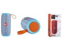 Акустическая система mini MP3 - TG106 5Вт Bluetooth, MP3, FM, microSD, microUSB, AUX 3.5mm, встроенный аккумулятор 3.7V/1200mA, микрофон, размер 16 х 6, 5 см, цветная
