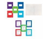 Тетрадь 18 листов Пифагор 104549 формат А5 обложка - мелованный картон, внутренний блок - офсет, 60 г/м2, клетка, с полями