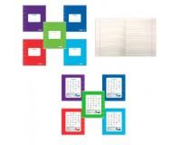 Тетрадь 18 листов Пифагор 104550 формат А5 обложка - мелованный картон, внутренний блок - офсет, 60 г/м2, линия, с полями