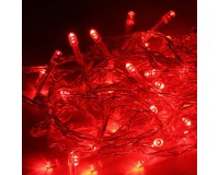Гирлянда Космос KOC_GIR50LED_R 50 светодиодов красный, 6.5 м. 4 Вт., 8 режимов мигания