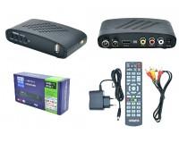 Цифровой телевизионный ресивер Орбита HD925 DVBT2/C + медиаплеер HD 1080i, Wi-Fi: требуется внешний USB адаптер (совместим с чипами MT7601), внешний блок питания