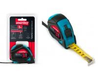 Рулетка измерительная 3мх19мм Smartbuy Tools MTP-319P2 прорезиненныйкорпус, 2фиксатора, усиленныйзацеп
