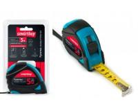 Рулетка измерительная 5мх19мм Smartbuy Tools MTP-519P2 прорезиненныйкорпус, 2фиксатора, усиленныйзацеп