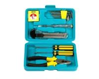 Набор инструментов SmartBuy TS-12P1 11 предметов отвертки, тестер, плоскогубцы, рулетка, ключи шестигранные, отвертка индикаторная, нож технический, пластиковый бокс