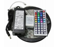Лента Огонек OG-LDL01 (LD-53A) набор 60LED-IP65-RGB 5 м + бп + пульт + контроллер