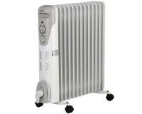 Радиатор Vitek VT-1711 W 1000/1500/2500 вт, 13 секций, 30 кв.м, регулируемый термостат