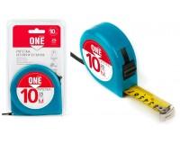 Рулетка измерительная 10мх25мм Smartbuy One Tools MTP-1025P1 пласиковый корпус, фиксатор, усиленныйзацеп, блистер с подвесом