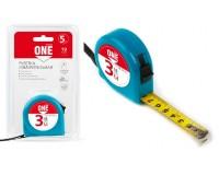 Рулетка измерительная 3мх16мм Smartbuy One Tools MTP-316P1 пластиковыйкорпус, фиксатор, усиленныйзацеп