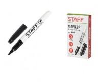 Маркер для доски STAFF 151093 круглый наконечник 2, 5 мм., эргономичный тонкий корпус с клипом, цвет чернил: черный