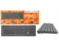 Клавиатура Defender UltraMate SM-530 RU USB Black 104 клавиши+12 дополнительных клавиш
