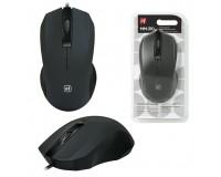 Мышь Defender MM-310 USB Optical (1000 dpi) черная, 2 кнопки+колесо-кнопка коробка (52310)