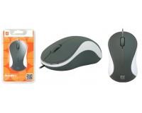 Мышь Defender MS-970 Accura USB Optical (1000dpi) серо-белая, 2 кнопки+кнопка-колесо блистер (52970)