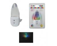 Светильник ночник Эра NN-618-LS-W