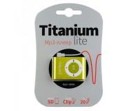Плеер Perfeo PF-A4145 Titanium Lite MP3 Green , microSD до 32 Gb, блистер