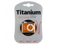 Плеер Perfeo PF-A4184 Titanium Lite MP3 Orange , microSD до 32 Gb, блистер