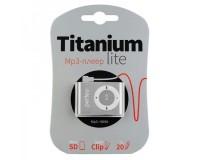 Плеер Perfeo PF-A4186 Titanium Lite MP3 Silver , microSD до 32 Gb, блистер