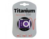 Плеер Perfeo PF-A4187 Titanium Lite MP3 Violet , microSD до 32 Gb, блистер