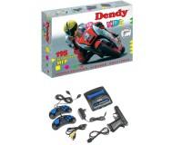 Приставка 8-bit Dendy Kids (195 встроенных игр)+ световой пистолет