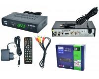 Цифровой телевизионный ресивер Орбита OT-DVB02 (HD927) DVBT2/C + медиаплеер HD 1080p, Wi-Fi: требуется внешний USB адаптер (совместим с чипами MT7601), внешний блок питания