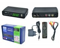 Цифровой телевизионный ресивер Орбита HD926 DVBT2 + медиаплеер HD 1080p, Wi-Fi: требуется внешний USB адаптер (совместим с чипами MT7601), внешний блок питания