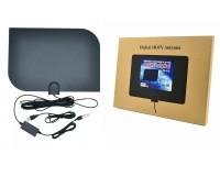 Антенна TV Орбита TD-018 для приема цифрового сигнала с усилителем(питание USB)