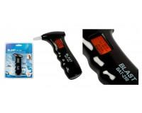 Алкотестер Blast BAT-250 полупроводниковый датчик, питание 2xAAA, диапазон тестирования 0.00-0.995mg/L, ЖК с подсветка, черный