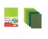 Цветной фетр для творчества BRAUBERG 660643 количество в наборе: 5 листов, количество цветов: 5 цветов (оттенки зеленого), размер 210х297 мм. толщина 2 мм