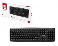 Клавиатура SmartBuy SBK-112P-K ONE PS/2 Black 104 клавиши