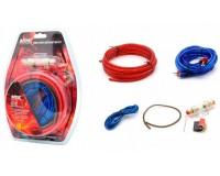 Комплект для установки 2-х канального усилителя MDK MD-A4 RCA-кабель тройной экран - 4, 5м.