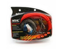 Комплект для установки 2-х канального усилителя MDK 8GA RCA-кабель тройной экран - 5м.