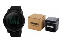 Часы наручные Skmei 1142 электронные (дата, будильник, секундомер), пластик, подсветка, CR2025