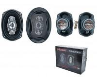 Автоколонки Pcinener TS-6985 3 полосы (коаксиальные), 50/800 Вт, диаметр 163х237 мм, с решеткой, чувствительность 93дБ