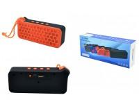 Акустическая система mini MP3 - H-990 5Вт Bluetooth, MP3, FM, microSD, microUSB, AUX-3.5мм встроенный аккумулятор 3.7V/600 мА размер 15.5 х 6 х 4 см, цветная