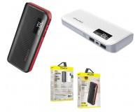 Портативное зарядное устройство Awei P76K 10000 мАч Выходной ток:1USB-1000мА , 2USB-2100мА ; входной ток: 2100мА, размер: 14.3*6.5*2.3 см , шнур USB-microUSB , пластик/металл