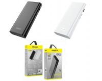 Портативное зарядное устройство Awei P77K 12000 мАч Выходной ток:1USB-2000мА , 2USB-2000мА ; входной ток: 2000мА, размер: 14.3*6.3*2.2 см , шнур USB-microUSB , пластик/металл