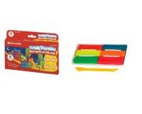 Пластилин BRAUBERG 103352 количество цветов в наборе: 6 цветов масса: 90 г флуоресцентный , со стеком, картонная упаковка