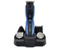 Набор для стрижки Atlanta ATH-6921 3Вт, 4 насадки, аккумуляторный , Ni-Mh 600mA, индикатор зарядки, триммер, черно-синий