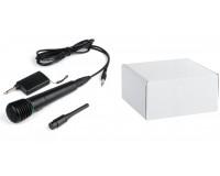 Микрофон - WM-308 пластик, беспроводной/проводной