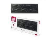 Клавиатура SmartBuy SBK-223U-K ONE USB Black 104 клавиши