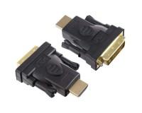 Переходник Perfeo HDMI A вилка / DVI-D вилка (A7017)