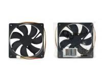 Вентилятор для корпуса Gembird FANCASE3/BALL 120х120х25мм, 3 pin, провод 30 см, втулка