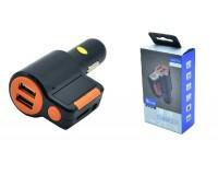 FM трансмиттер Broad KCB-905 12-24В, USB/microSD, автомобильный, Bluetooth, пульт, коробка,