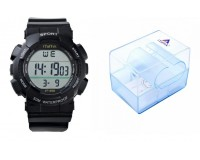 Часы наручные iTaiTek IT-355 электронные (дата, будильник, секундомер, таймер), пластик, подсветка